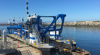 DSC Dredge delivers customised dredge to Santacruz Harbour