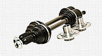 FRONT REAR AXLE ASSEMBLY