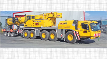 GMK5250L enhances mobility of DCH Crane´s fleet