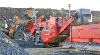 New C-1540 Mobile Cone Crusher