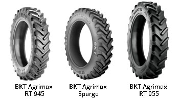 Special Tyres for Sprayers
