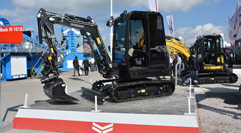 Yanmar successfully exhibits at GaLaBau