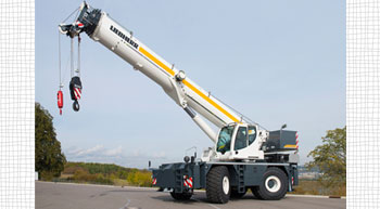 Liebherr presents new range of rough-terrain cranes