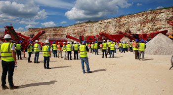 Terex | Finlay unveils 3 new machines at US customer meet