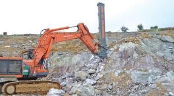 Blast-free Mining