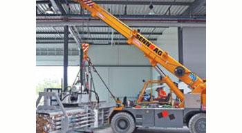 Ormig launches new indoor elecric crane