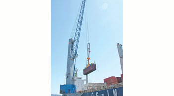 Chilean terminals opt for large cranes from TPS