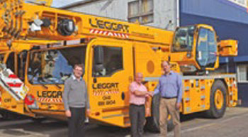 Leggat adds two Terex AC 40/2L all terrain cranes