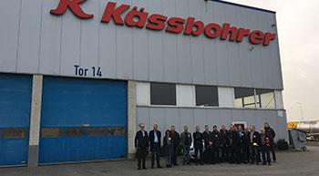 Industry chamber visits Kässbohrer HQ