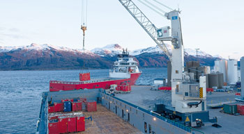 Tenth Terex Gottwald mobile harbour crane for Japan