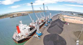 Ership installs Terex Gottwald mobile harbour cranes