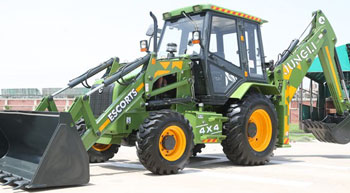 New Escorts Backhoe Loader - JUNGLI