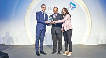 Allcargo Logistics bags award