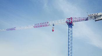 Raimondi Cranes to exhibit at CONEXPO-CON/AGG 2017