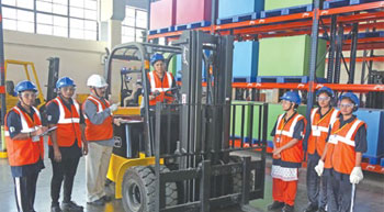 Women Forklift Drivers