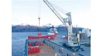 TPS delivers Gottwald mobile harbour crane to Port of Otake