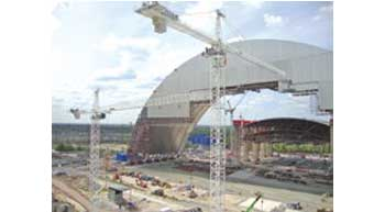Manitowoc cranes complete 10 years of lifting at Chernobyl site