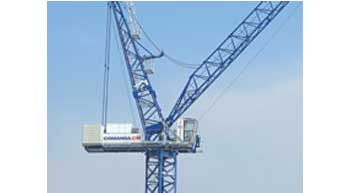 New Luffing-jib Crane from Comansa CM
