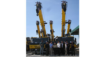 PEA of Thailand to add 8 more Grove cranes