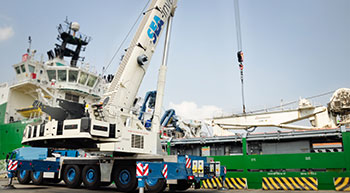 Petro Sea Logistics adds Grove crane