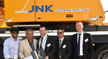 JNK Lifters buys Liebherr LTM 1250-5.1 mobile crane