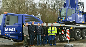 MSG takes delivery of Demag all-terrain cranes