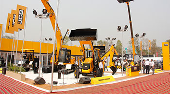 JCB India showcases new range of equipment at ConMac 2017