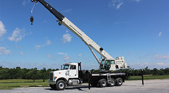 National Crane introduces NTC55 truck crane