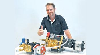 Blasters go hydraulic