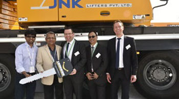 JNK Lifters buys Liebherr mobile crane