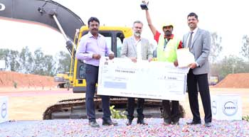 Volvo CE recognises operator talent in India