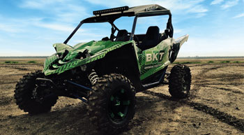 BKT unveils new tyre range for ATV vehicles