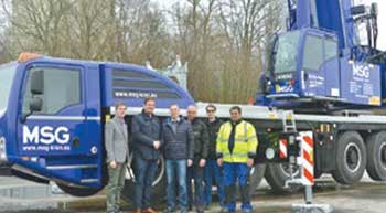 MSG takes delivery of Demag cranes