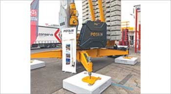 Potain Hup cranes showcased at SaMoTer