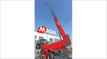 New Telehandler from Magni