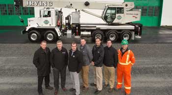 Irving Equipment adds NBT45 crane to fleet