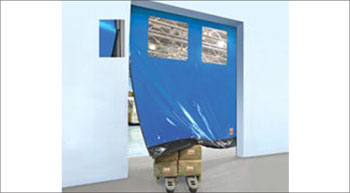 High-speed self-repairing door