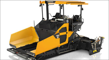 Volvo launches P6820C ABG paver in India