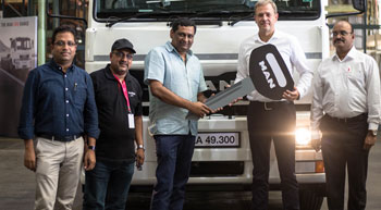 MAN Trucks India rolls out new CLA EVO vehicle