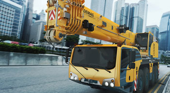 Terex Cranes announces improved Demag range