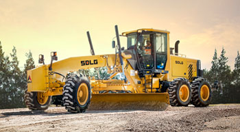 SDLG launches VHP graders in Middle East and Africa