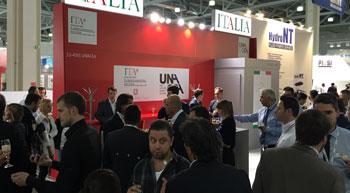 Unacea inaugurates Italian Pavilion at CTT Moscow