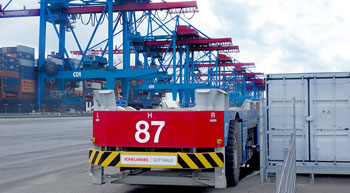 Konecranes bags order for 25 AGVs with Li-Ion battery
