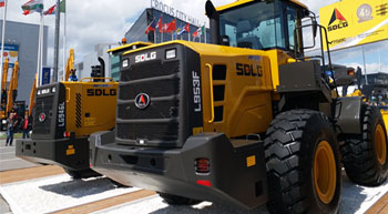 SDLG launches new F-series wheel loaders for Russian market