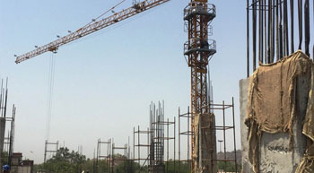 Kesar Constructions uses Potain MCi 85 A to build mall in India