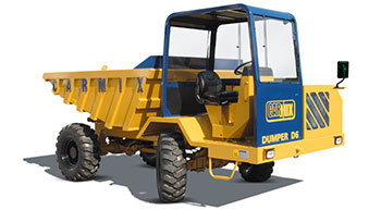Carmix introduces off-road dumper