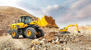 SDLG F-series wheel loaders