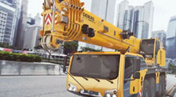 Improved Demag crane Range