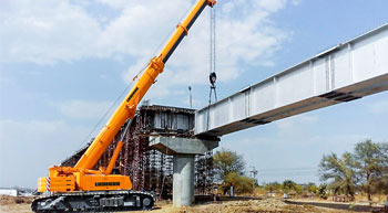NCC buys Liebherr Telescopic Crawler Crane