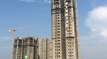 Potain MCT 85 cranes help deliver luxury residences in Kolkata